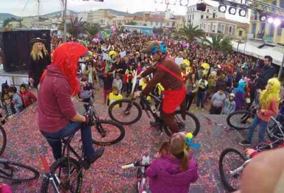 Ποδηλατικό Καρναβάλι Λέσβου 2016 (Βίντεο)